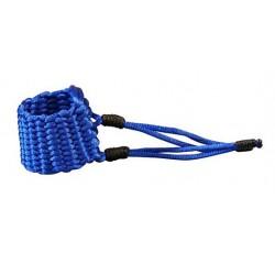 LIGATURE BAMBU AT05 POUR SAXOPHONE TENOR EN FIBRE SYNTHETIQUE couleur bleu saphire