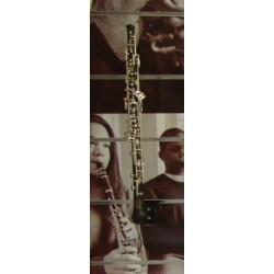 Hautbois NOBEL complet N01 3 clés d'octave