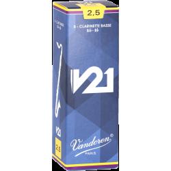 Anches Vandoren V21 CR82 pour clarinettes basse