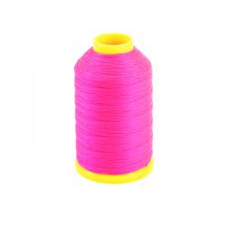 bobine de fil nylon rose fluo pour anches doubles de Hautbois