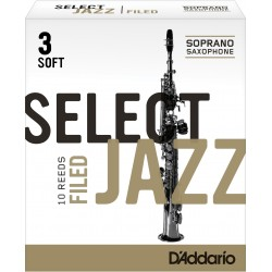 ANCHES SELECT JAZZ FILED D'ADDARIO SAXOPHONE SOPRANO RSF10SSX3S