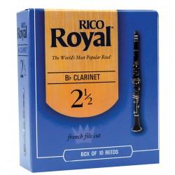 ANCHES RICO ROYAL CLARINETTE SIB & LA RBB1025