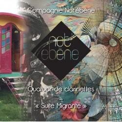 QUATUOR DE CLARINETTES NOT EBENE EN CD