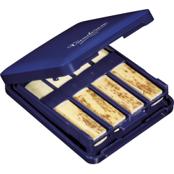 Porte anches bleu marine pour 8 anches clarinettes et saxo soprano VRC810